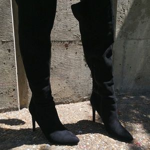 Missguided Over the Knee Boots